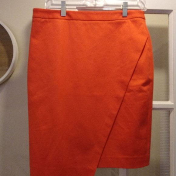 Banana Republic Dresses & Skirts - Banana Republic Bright Pink/Orange Skirt